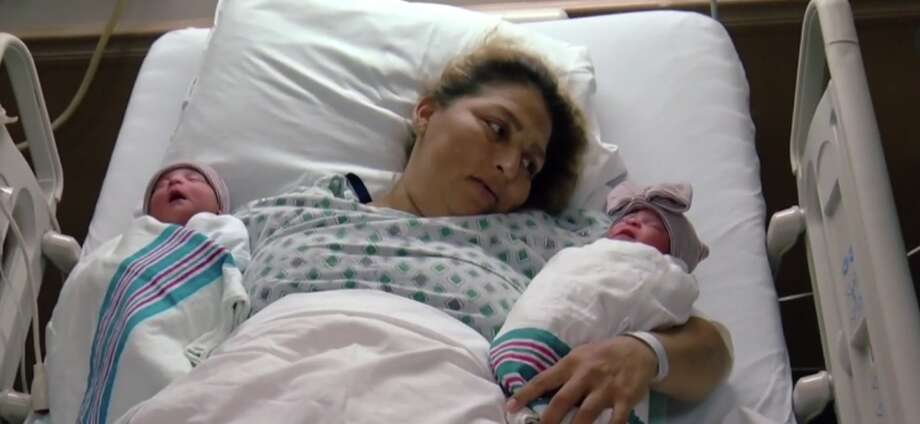 Twins were born minutes apart, but in different years, at a California hospital. Photo: Associated Press