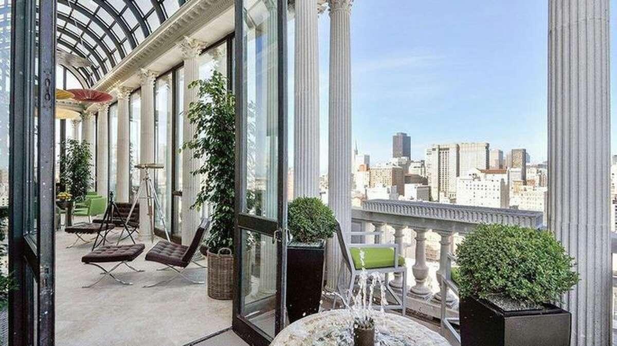 The Hamilton penthouse in San Francisco.
