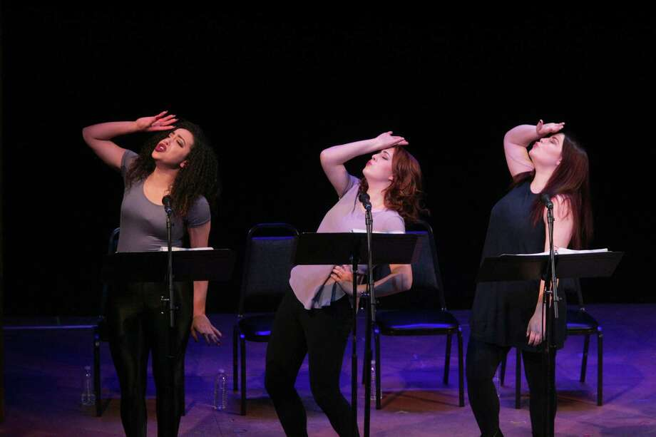 Above, a trio of actors performs in last year's Festival of New Musicals at Goodspeed Musicals. Photo: Photo By Diane Sobolewski / ©2017 Diane Sobolewski