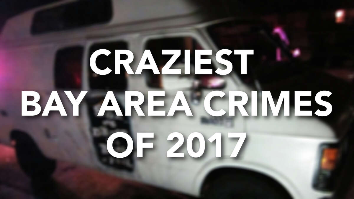 These crime stories from 2017 in the Bay Area were some real head-scratchers, or should we say bread-scratchers? Check out the craziest crimes by clicking through.