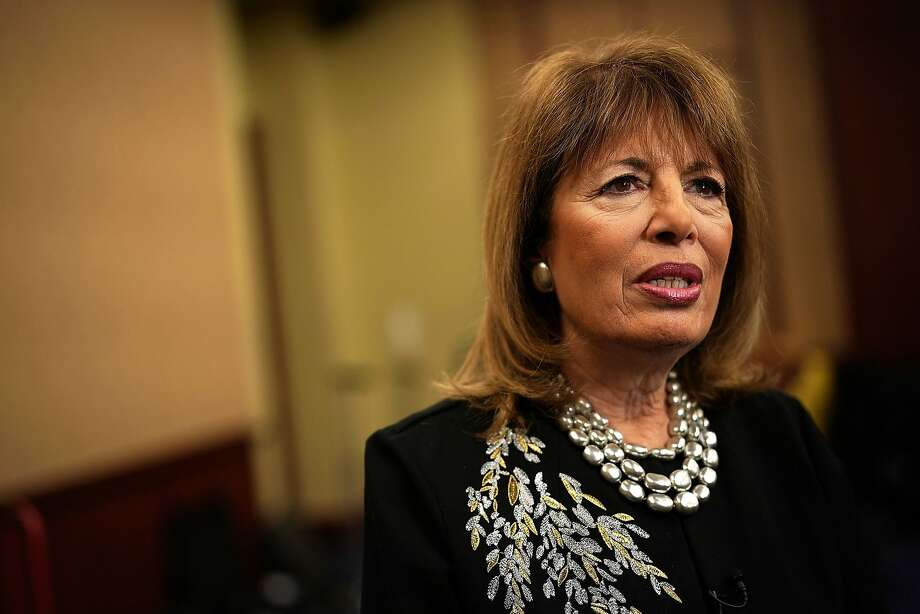 Rep. Jackie Speier is encouraging colleagues to wear black to the State of the Union.  (Photo by Alex Wong/Getty Images) Photo: Alex Wong, Getty Images