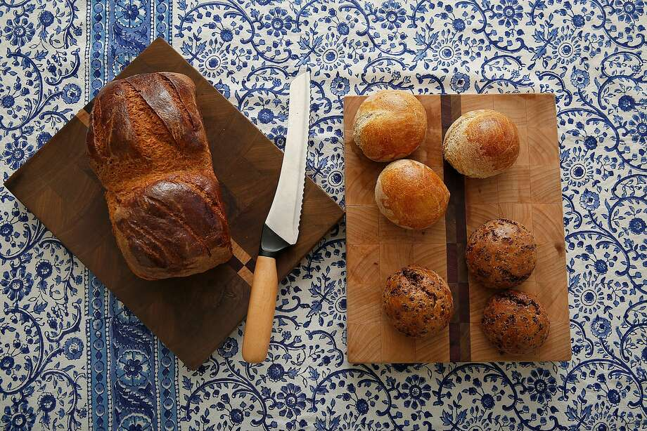 Gluten-free bread at Ducks & Dragons bakery. Photo: Liz Hafalia, The Chronicle