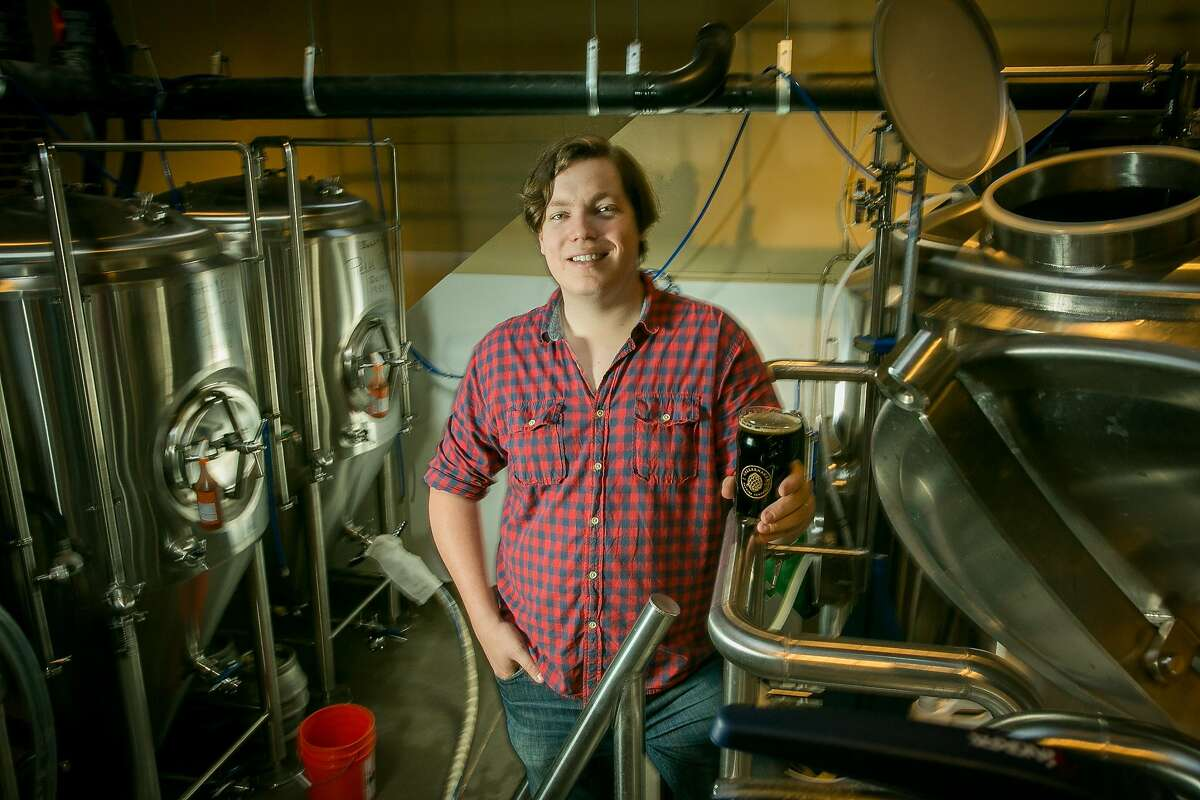 Connor Casey, brewer at Cellarmaker in San Francisco, is one of the plaintiffs in a new lawsuit against Gov. Gavin Newsom focused on the reopening restrictions for craft breweries in the state.