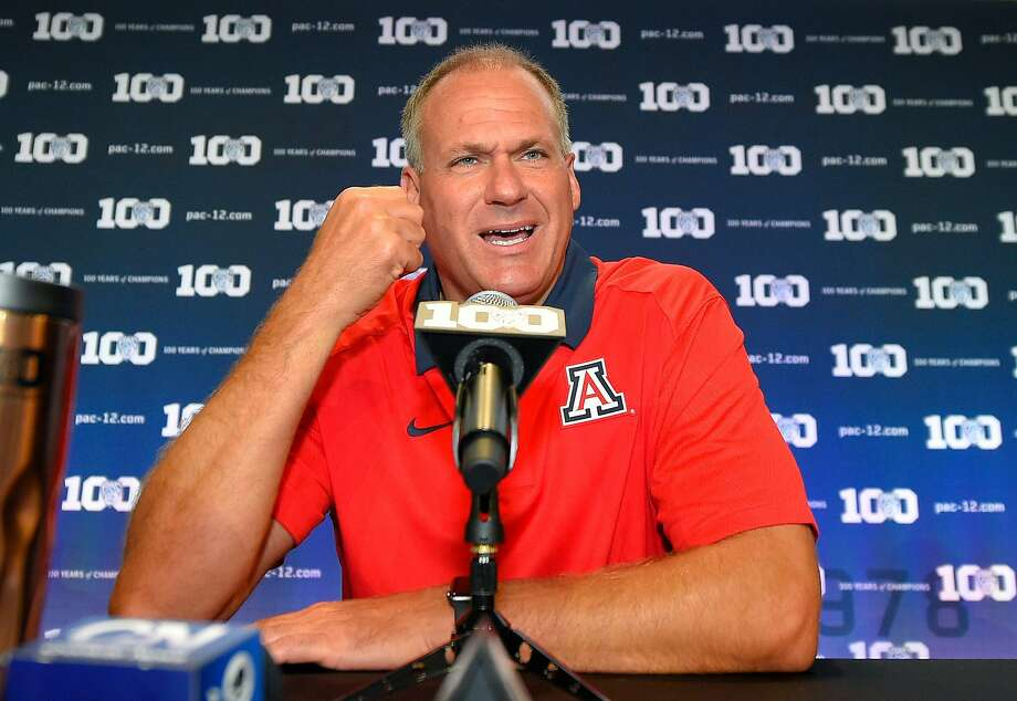 Arizona coach Rich Rodriguez was investigated for allegations of sexual harassment. Photo: Mark J. Terrill, Associated Press