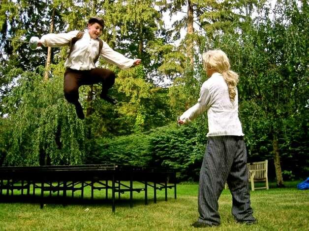 Fairfield Youth Shakespeare 39 Twelfth Night 39 In The Garden