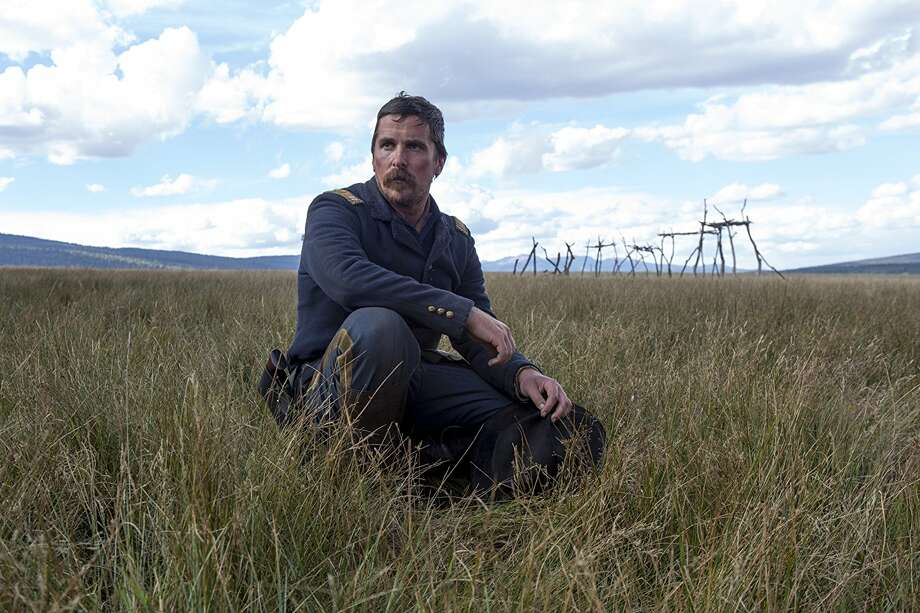 "Christian Bale stars as Capt. Joseph Blocker in ""Hostiles."" Photo: Lorey Sebastian"