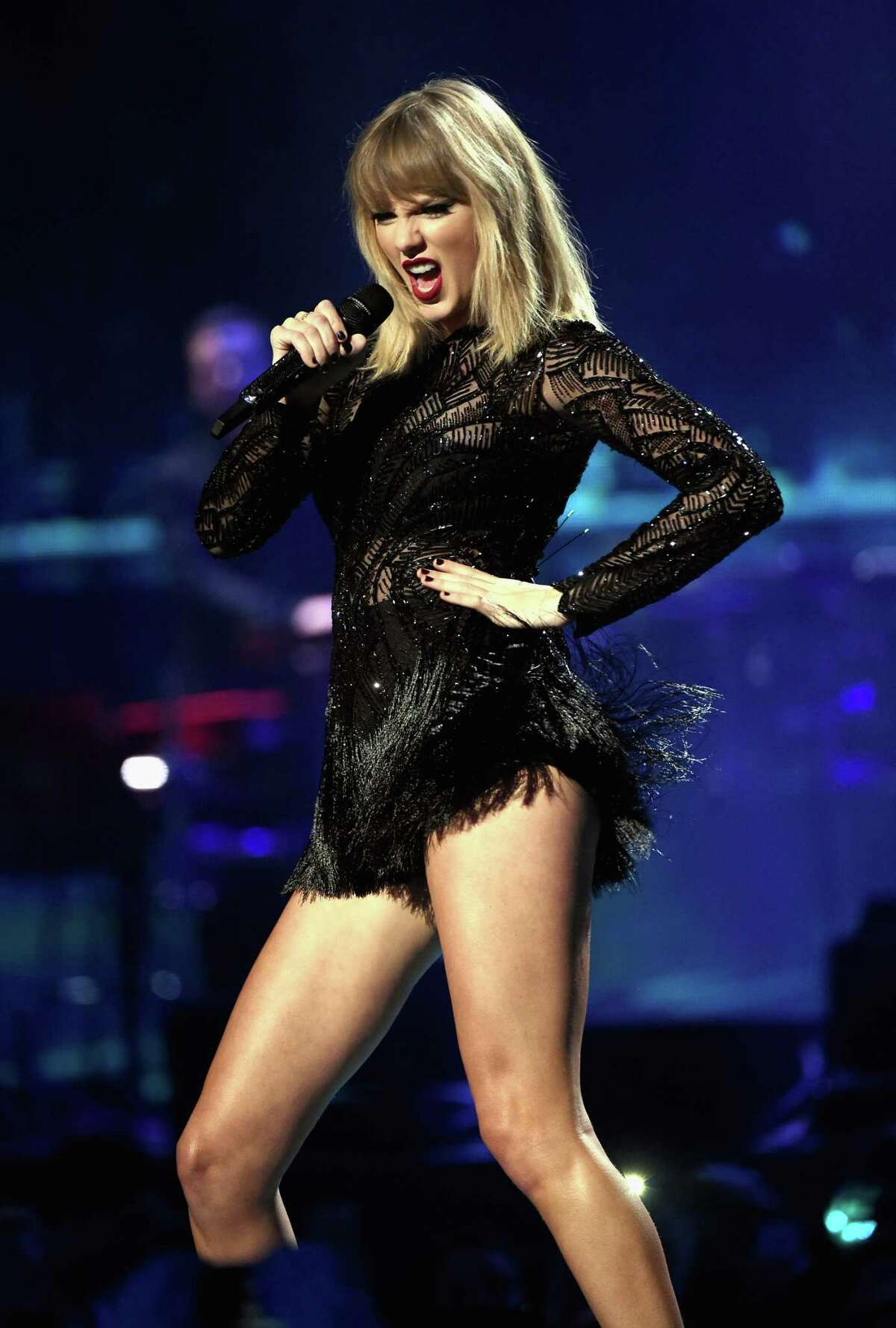 Taylor Swift performs onstage during the 2017 DIRECTV NOW Super Saturday Night Concert at Club Nomadic.