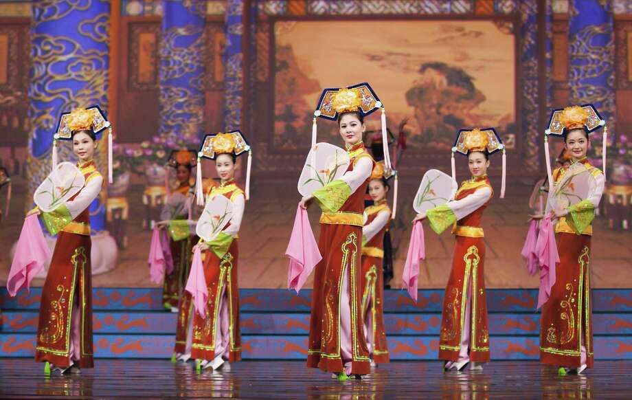 The national tour of the Chinese dance troupe Shen Yun is making a two-day stop in Waterbury. Photo: Palace Theatre/Contributed Photo / Connecticut Post Contributed