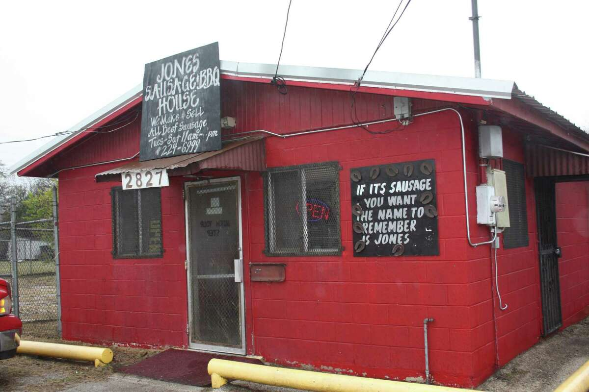 Jones Sausage & Bar-B-Que House, at 2827 Martin Luther King Drive, has been selling barbecue for more than 25 years.