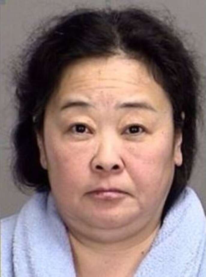 Lina Ashford, 49, was arrested on Dec. 29, 2017, in Bryan, Texas and is charged with prostitution after police received tips about the Rose Spa and Chi Massage parlours. Photo: Brazos County Jail