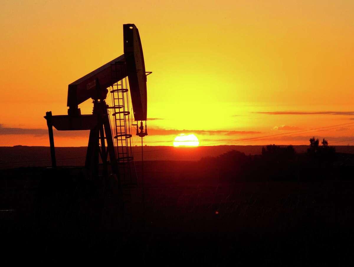 An oil well near Tioga, North Dakota. (Karen Bleier/AFP/Getty Images)