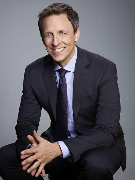 Seth Meyers Photo: Rodolfo Martinez, NBC