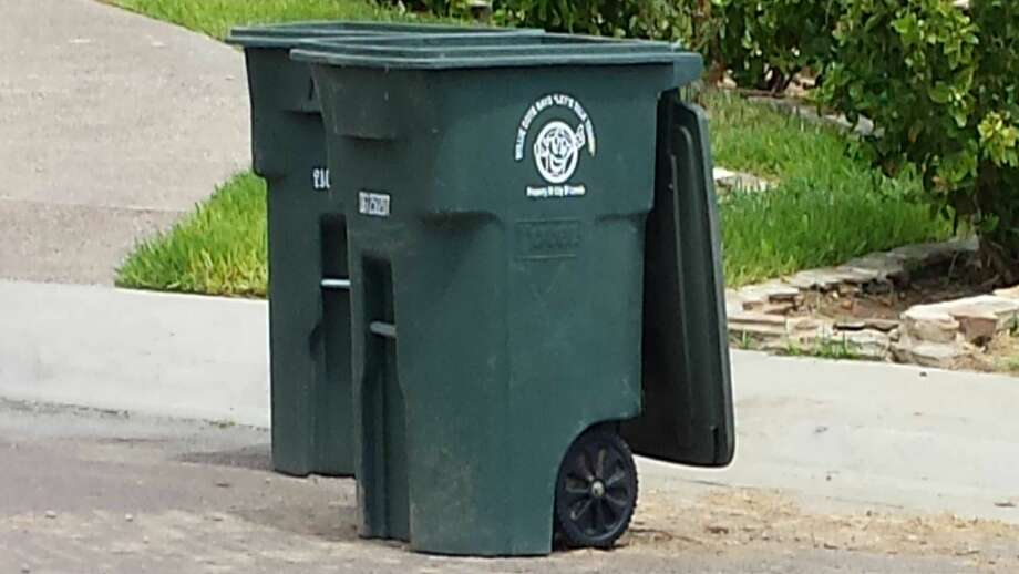 "In this file photo, a ""Willie Bote"" garbage can is pictured. Photo: Laredo Morning Times"