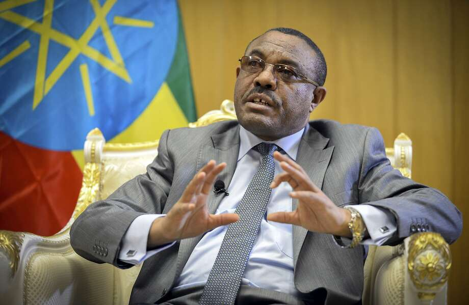 """Prime Minister Hailemariam Desalegn calls his plan to free political detainees an effort to """"widen the democratic space for all."""" Photo: Michael Tewelde, Associated Press"""
