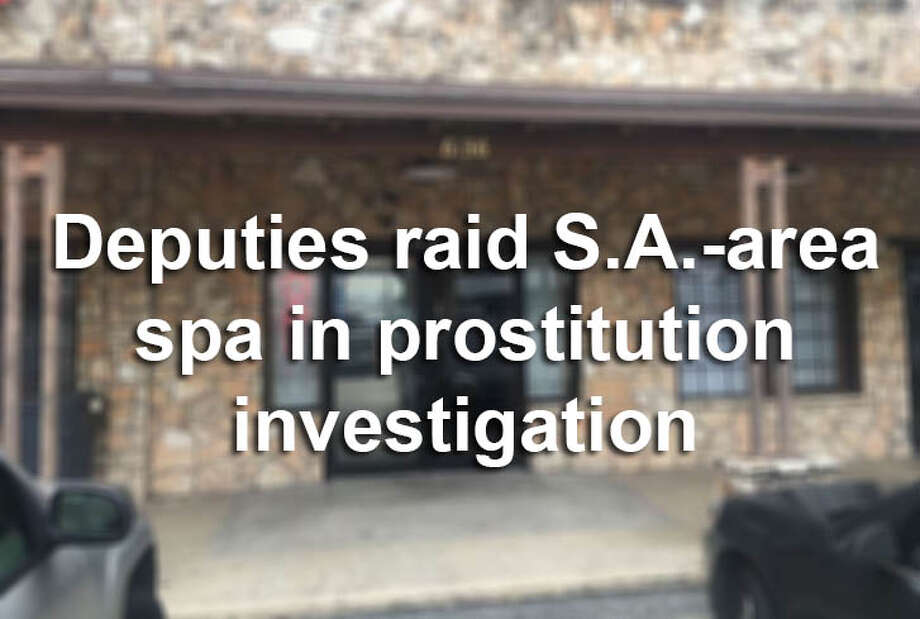 Authorities in Leon Valley shut down the VIP Spa in May 2016 following a lengthy investigation into allegations of prostitution. Photo: Bexar County Sheriff's Office