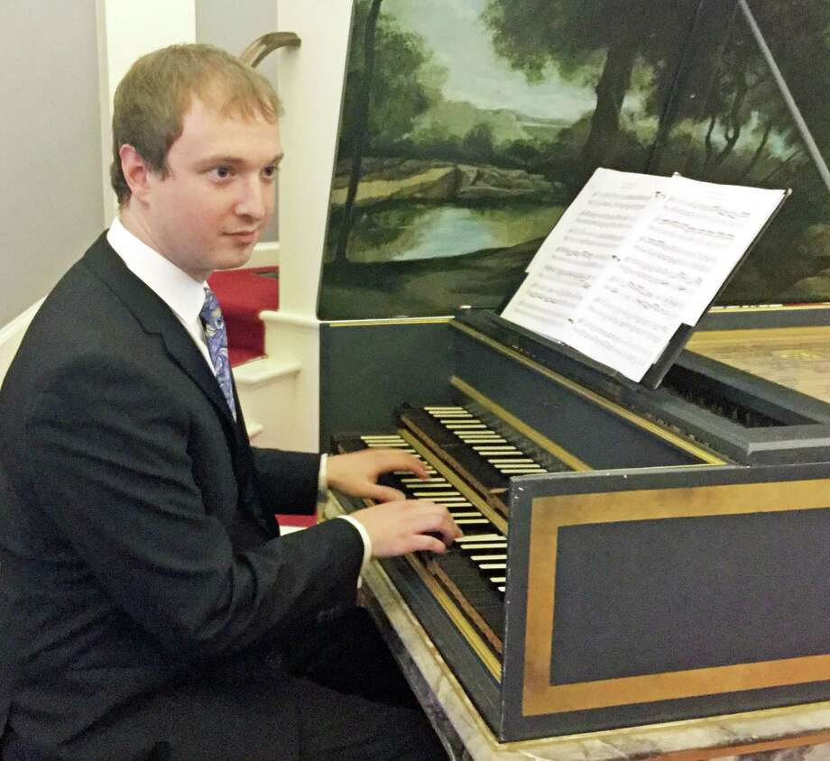 Special Guest Dylan Sauerwald, international prize winning harpsichordist, joins the Sherman Chamber Ensemble's baroque concert this weekend. Photo: Contributed Photo