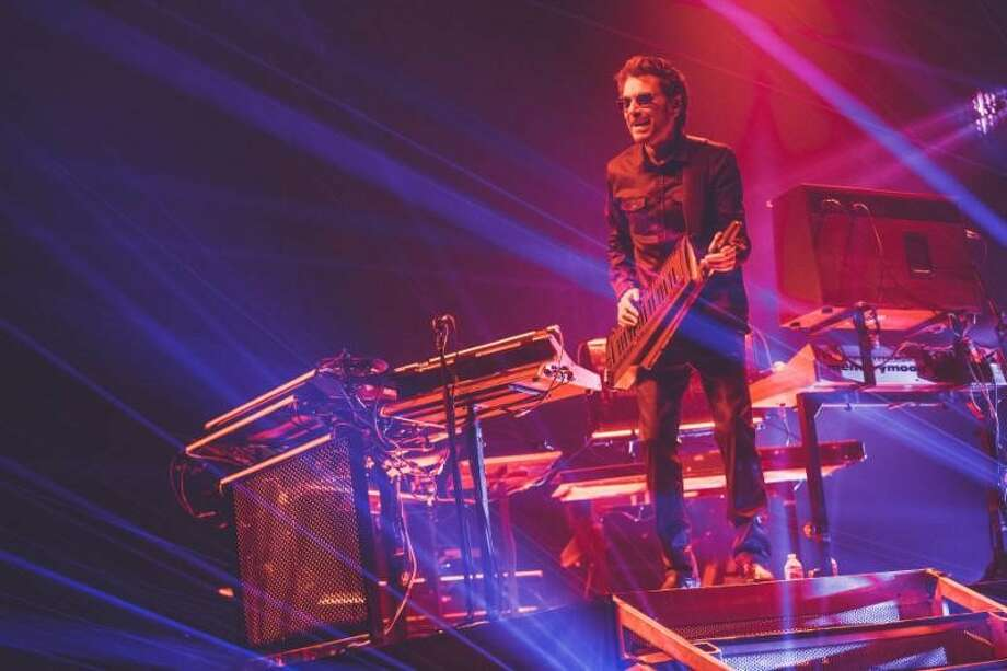 Jean-Michel Jarre. Photo by Eric Voake