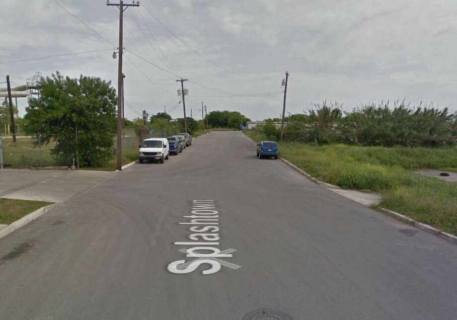 San Antonio police arrested Herbert Alan Nichols, 58, of Houston, for allegedly smuggling a dozen people in a tractor trailer on Dec. 23 in the 1300 block of Splashtown Drive. Photo: Google Maps