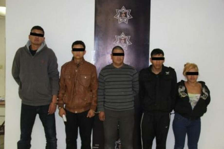 A group of Los Aztecas cartel members were arrested in Mexico in December 2017, according to El Blog del Narco.  Photo: Courtesy/El Blog Del Narco