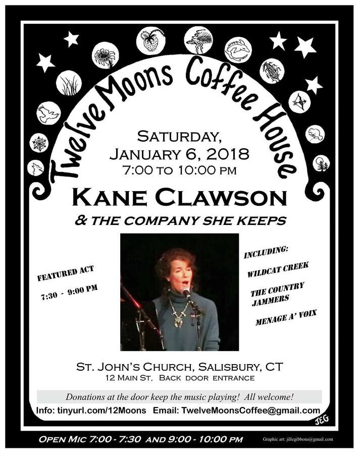 12 Moons Coffee House will feature music by Kate Clawson and Friends on Jan. 6. Photo: Contributed Photo