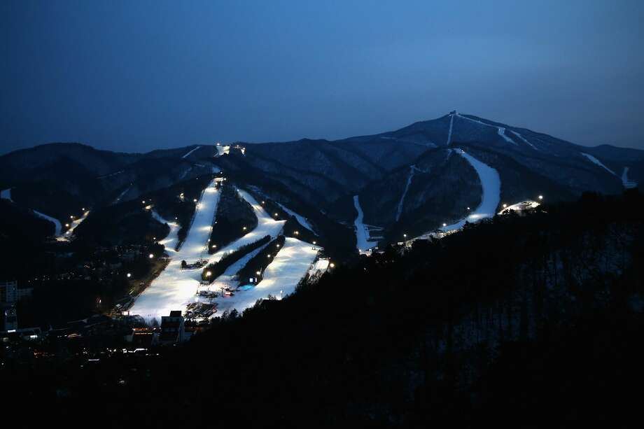 A general view of the Yongpyong Alpine Centre in the Pyeongchang Mountain Cluster. Photo: Sean M. Haffey/Getty Images