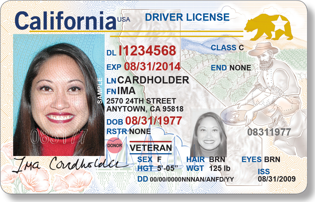 - Look California A Driver's com Procedure And New License Sfchronicle