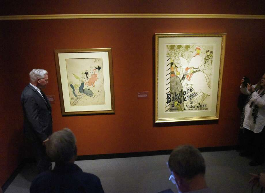 "Toulouse-Lautrec exhibit The Bruce Museum, 1 Museum Drive, will show its exhibit, ""In the Limelight: Toulouse-Lautrec,"" through Jan. 7. Show will feature 100 drawings, prints and posters from the Herakleidon Museum. The museum is open Tuesday through Sunday from 10 a.m. to 5 p.m. For more information, call the Bruce Museum at 203-869-0376 or visit brucemuseum.org. Photo: Tyler Sizemore / Hearst Connecticut Media / Greenwich Time"
