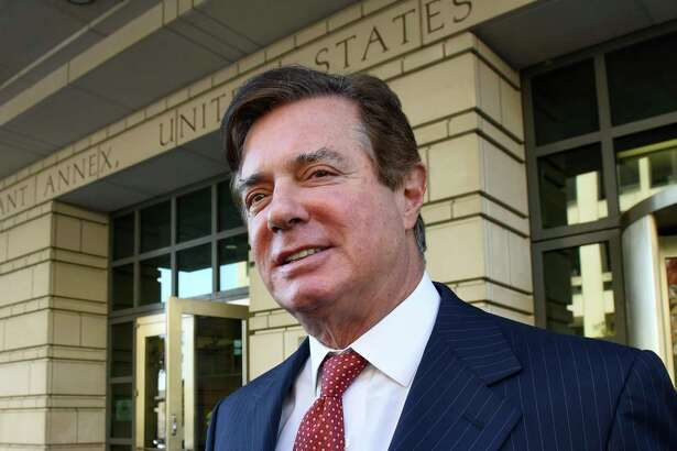 Former Trump campaign chairman Paul Manafort, seen here Nov. 2, challenged his indictment by special counsel Robert Mueller in a federal lawsuit.