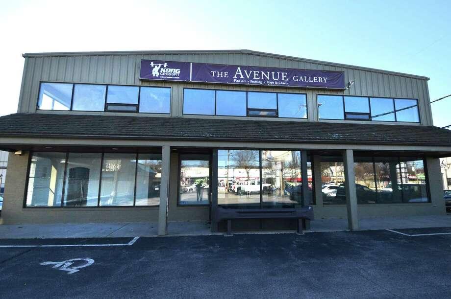 The property at 173 Main St, formerly The Avenue Gallery in Norwalk on Wednesday. Photo: Alex Von Kleydorff / Hearst Connecticut Media / Norwalk Hour
