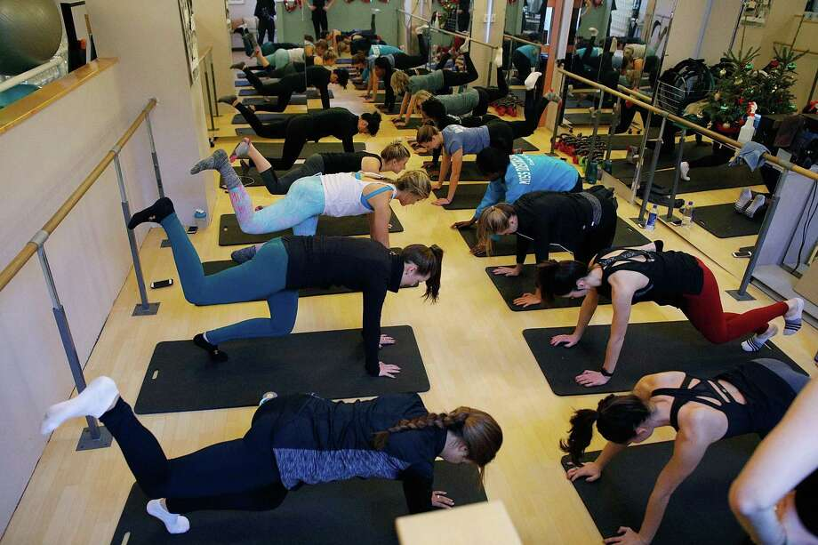 NEW YORK, NY - JANUARY 01:  Miss America 2018 contestants participate in the Miss America contestants resolve to get fit with Big Piano Fitness at Pilates on Fifth on January 1, 2018 in New York City.  (Photo by Lars Niki/Getty Images for Pilates on Fifth) Photo: Lars Niki, Stringer / Getty Images For Pilates On Fift / 2018 Getty Images