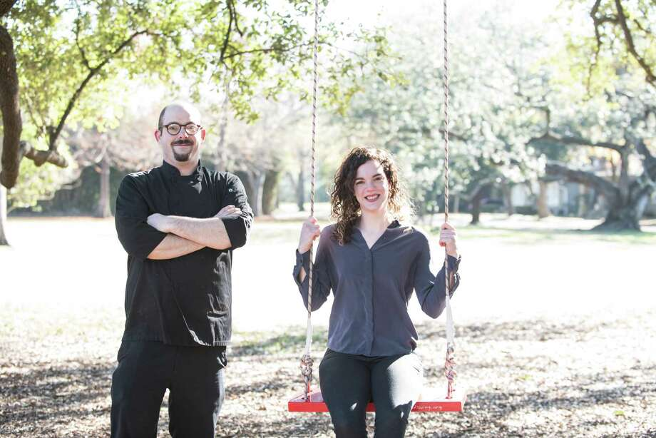 Executive chef Jacob Pate and general manager Julie Rogers will oversee Night Heron, a new restaurant and bar project at 1601 W. Main in Montrose. The project, expected to open February 2018, is from Agricole Hospitality which owns Coltivare and Eight Row Flint. Photo: Carla Gomez