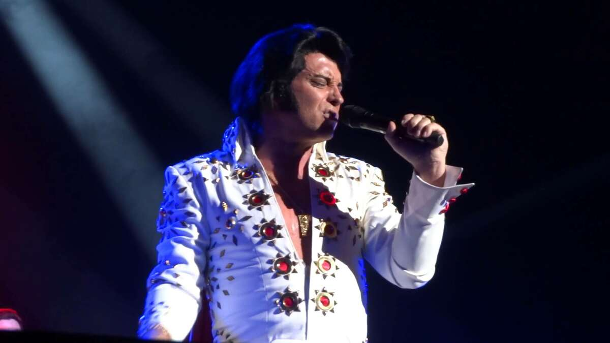 """Elvis Tribute Artist Bill Cherry and others will be performing """"Memories of Elvis"""" at Proctors in Schenectady on Friday. Get details."""