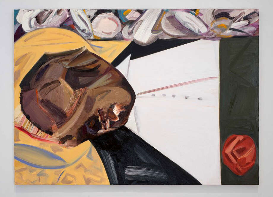 "Dana Schutz's ""Open Casket."" MUST CREDIT: Bill Orcutt, courtesy Whitney Museum Photo: Courtesy Of Whitney Museum / Courtesy of Whitney Museum"