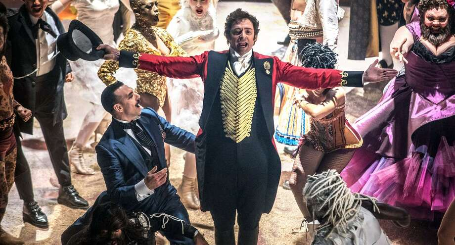 """""""The Greatest Showman"""" stars Hugh Jackman, above, as P.T. Barnum. Photo: 20th Century Fox / Connecticut Post Contributed"""