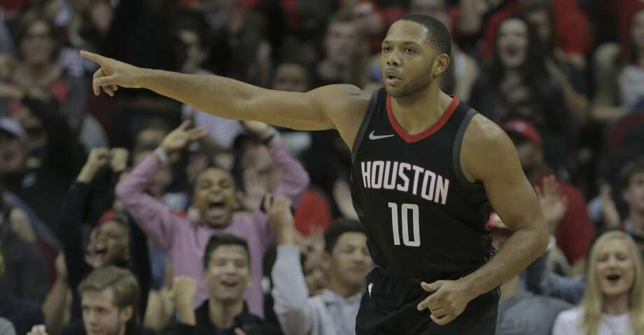 PHOTOS: Rockets game-by-gameEric Gordon's move into the Rockets' starting lineup to replace James Harden was the first step of a series of changes brought by the injury to Harden.Browse through the photos to see how the Rockets have fared through each game this season. Photo: Elizabeth Conley/Houston Chronicle