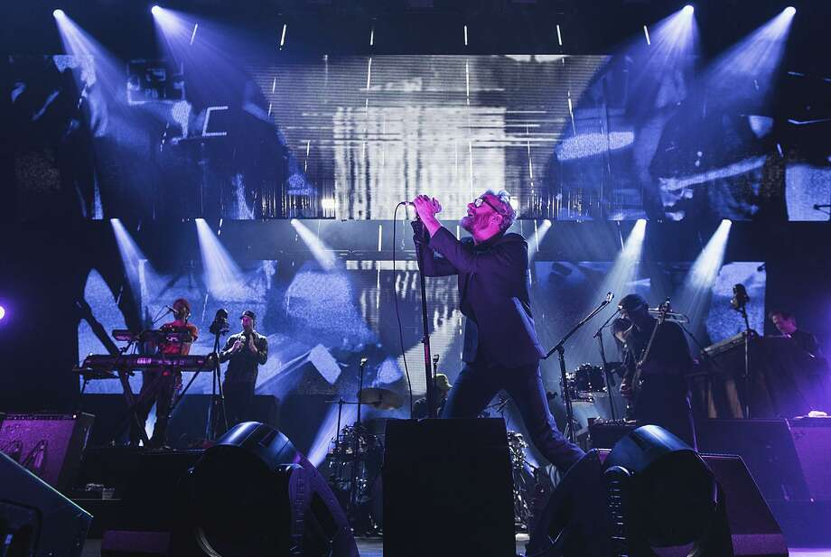 The National performs in Seattle. The band reset Berkeley concerts canceled by Wine Country fires. Photo: Mat Hayward / Mat Hayward / Getty Images 2017 / 2017 Mat Hayward