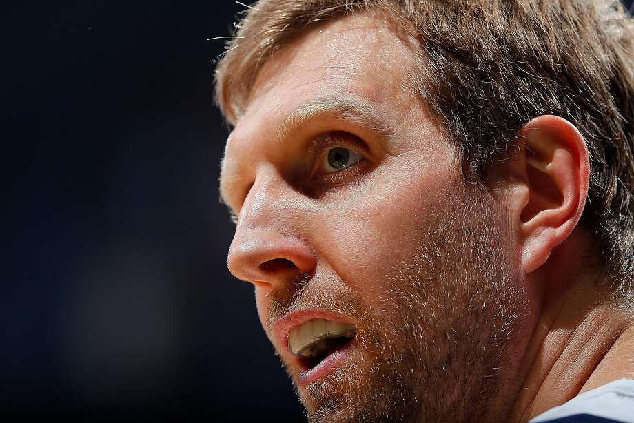 ATLANTA, GA - DECEMBER 23:  Dirk Nowitzki #41 of the Dallas Mavericks looks on during the game against the Atlanta Hawks at Philips Arena on December 23, 2017 in Atlanta, Georgia.  NOTE TO USER: User expressly acknowledges and agrees that, by downloading and or using this photograph, User is consenting to the terms and conditions of the Getty Images License Agreement.  (Photo by Kevin C. Cox/Getty Images) Photo: Kevin C. Cox, Getty Images