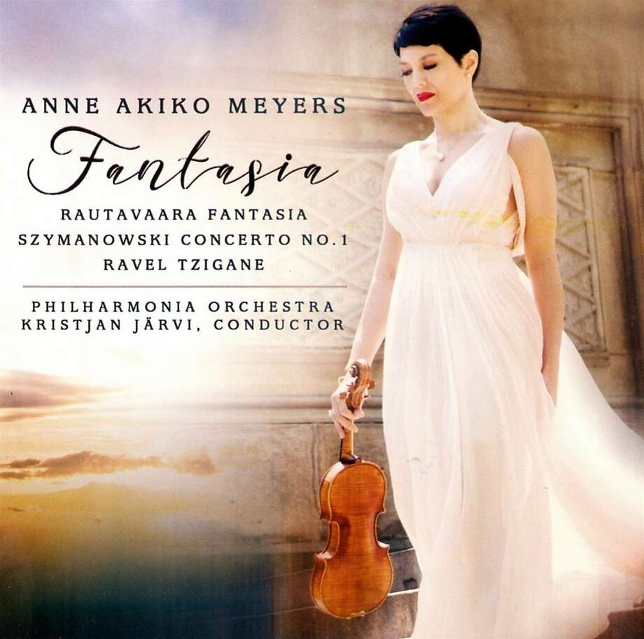 "Anne Akiko Meyers, ""Fantasia"" Photo: Avie Records"