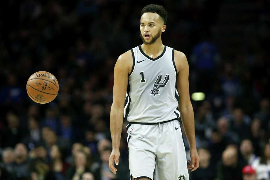 Kyle Anderson averaged 7.9 points and 5.4 rebounds in his fourth season with the Spurs. Photo: Rob Carr, Getty Images / 2018 Getty Images