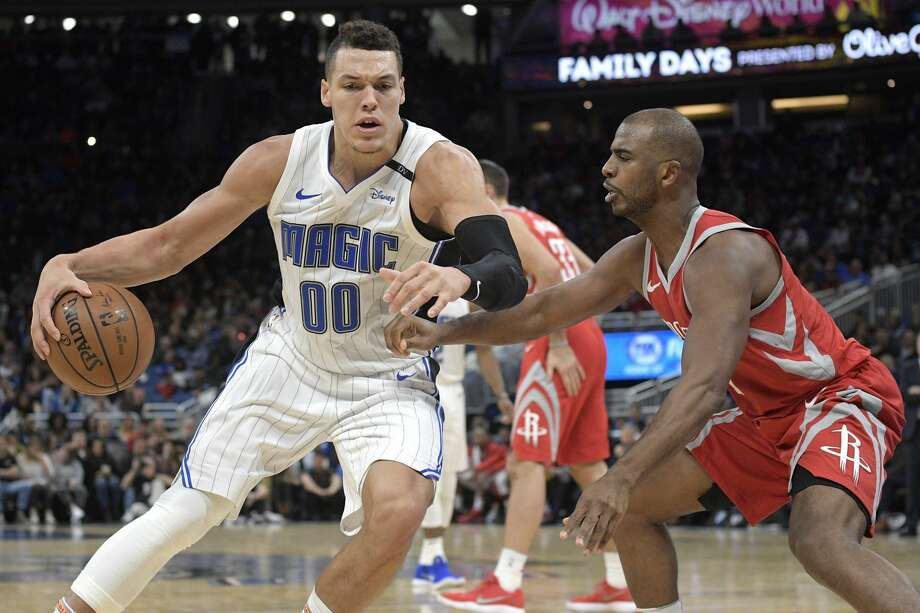 Aaron Gordon has blossomed as a power forward, and the Magic are expected to match any offer sheets he receives. Photo: Phelan M. Ebenhack/Associated Press