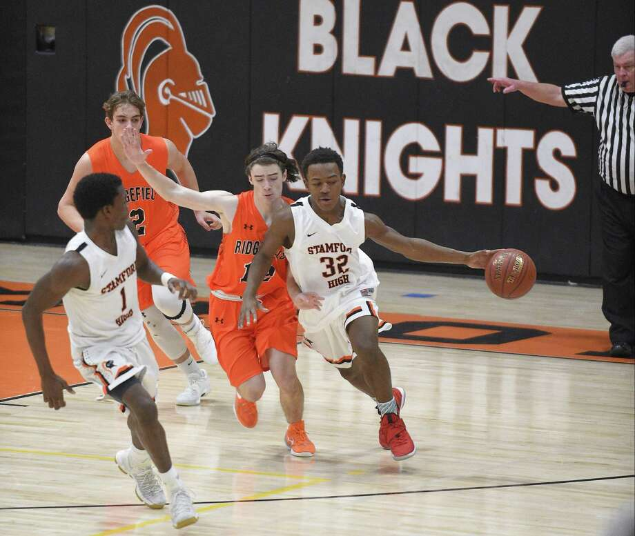 Ridgefield defeated Stamford 79-60 in a FCIAC Boys basketball game at Stamford High School in Stamford, Conn. on Wednesday, Jan. 3, 2018. Photo: Matthew Brown / Hearst Connecticut Media / Stamford Advocate
