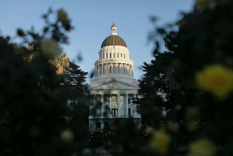 Capitol building in Sacramento, Calif., in October 2017. (Myung J. Chun/Los Angeles Times/TNS) Photo: Myung J. Chun, TNS