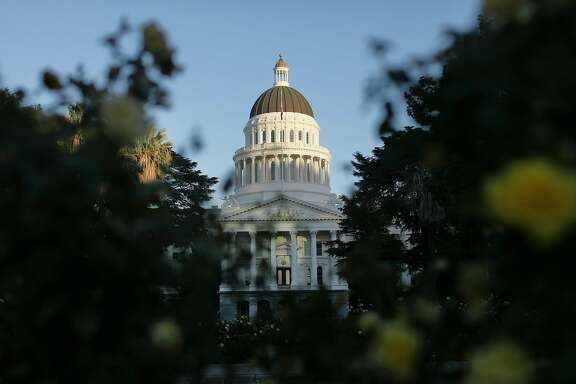 Capitol building in Sacramento, Calif., in October 2017. (Myung J. Chun/Los Angeles Times/TNS)