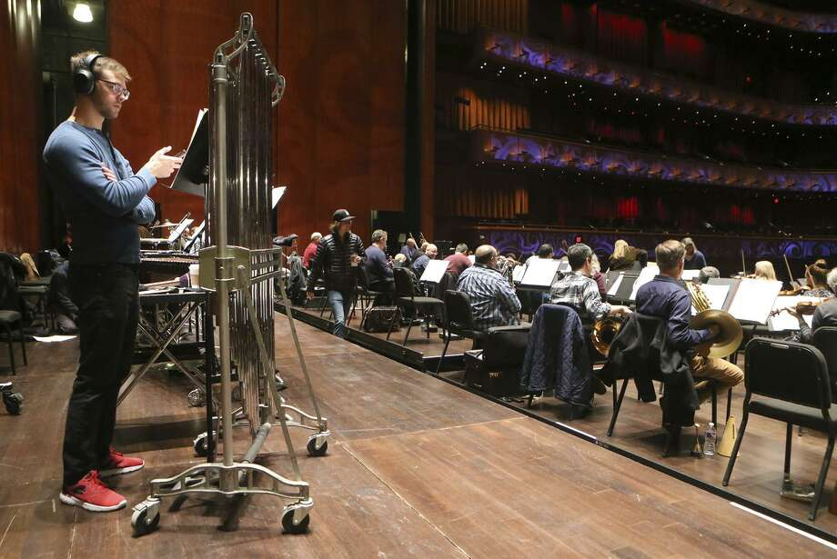 The San Antonio Symphony rehearsed for Tricentennial Celebration concerts on the morning of Wednesday Jan. 3, 2018 at the Tobin Center. Photo: John Davenport /San Antonio Express-News / ©John Davenport/San Antonio Express-News