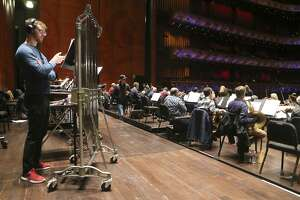 The San Antonio Symphony rehearsed for Tricentennial Celebration concerts on the morning of Wednesday Jan. 3, 2018 at the Tobin Center.