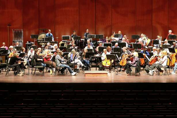 The San Antonio Symphony, shown in rehearsal in January at the Tobin Center for the Performing Arts, begins its 2018-'19 season on Sept. 21.
