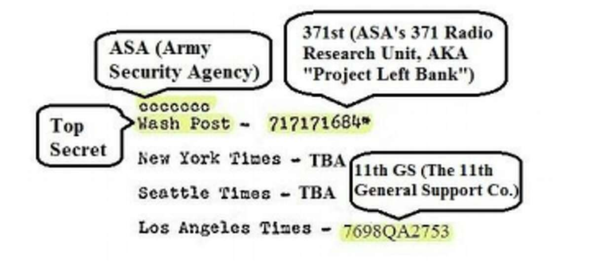 The numbers at the bottom of the fifth Cooper letter are code that links the letter to three U.S. Army units Tom Colbert's suspect was linked with, Colbert says in his latest release.