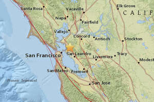A magnitude 4.4 earthquake struck at 2:40 am in Berkeley on Thursday, January 4, 2018.