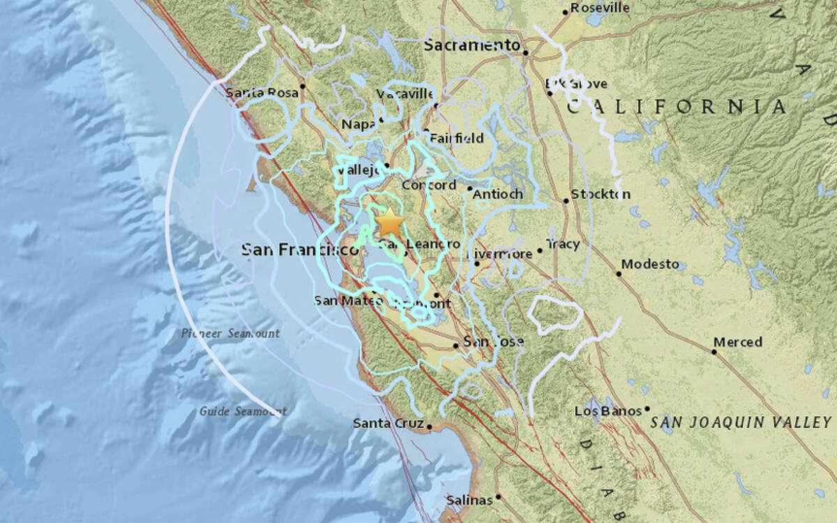 A magnitude 4.4 earthquake struck at 2:39 am in Berkeley on Thursday, January 4, 2018. The quake was felt from Santa Rosa to Santa Cruz.