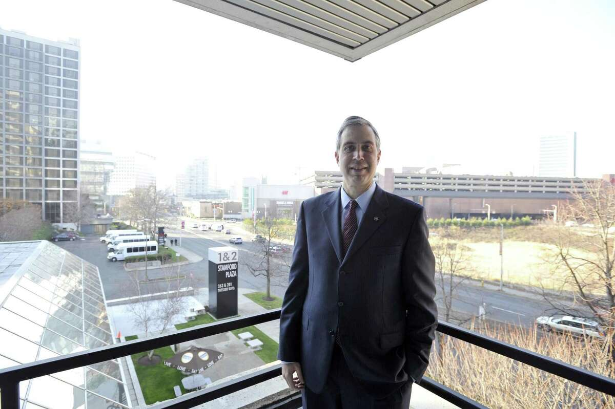 Webster Financial CEO John Ciulla in 2015 at the company's office in downtown Stamford, Conn. On Jan. 4, 2018, Webster pledged to raise its minimum wage to $15 by the end of 2018 and awarding a $1,000 cash bonus to non-executive employees, representing about 70 percent of its workforce.